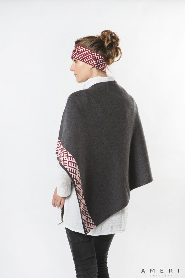 Latvian Ornament Poncho