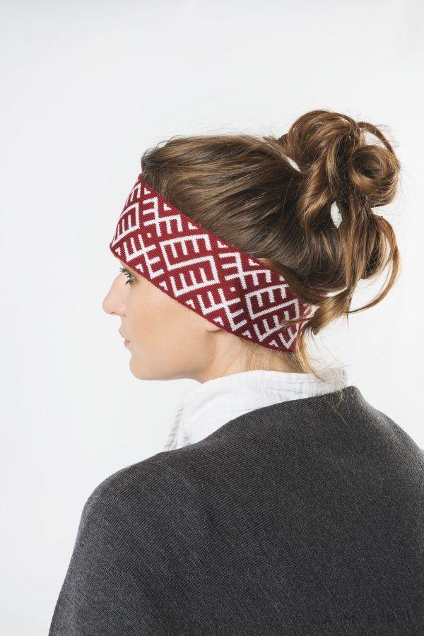 Headband with Latvian Ornaments