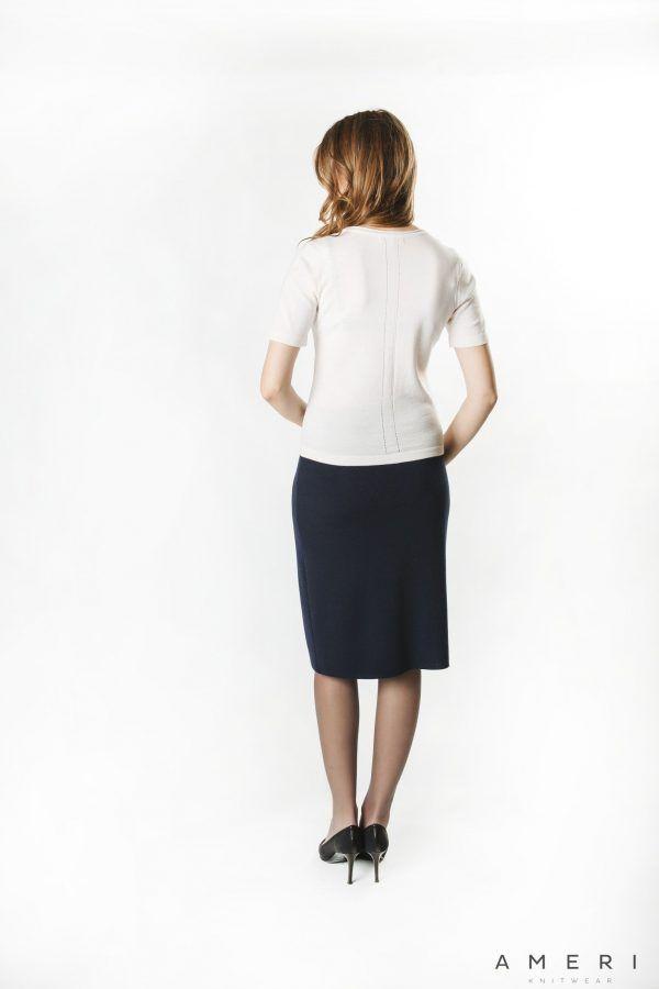 Merino Basic Sweater Short Sleeve