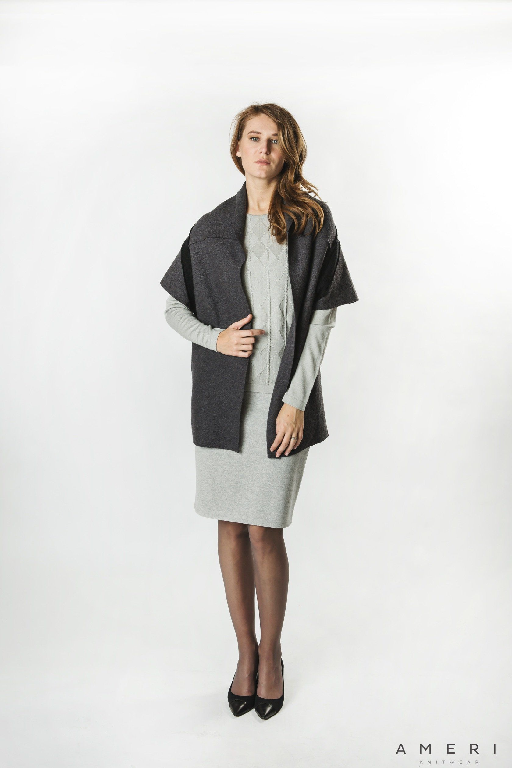 Brīvā stila filca veste