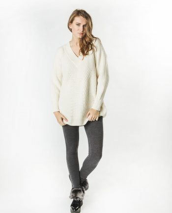 Wool Cashmere Loose Sweater