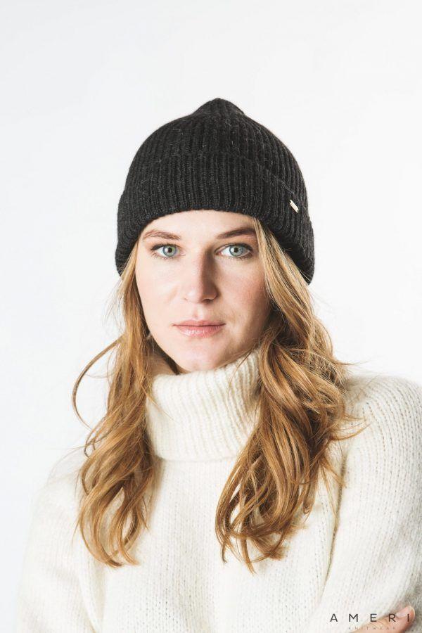 Alpaca Ribbed Hat