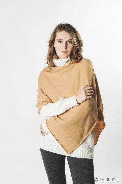 Cashmere Poncho