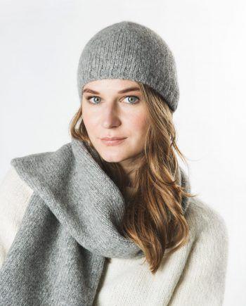 Alpaca Blend Plain Hat
