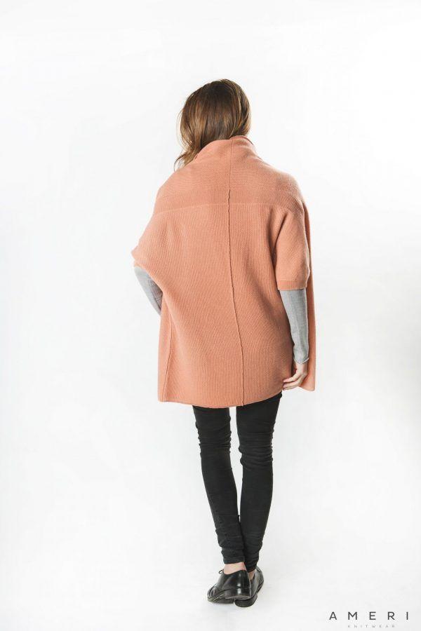Cashmere Ribbed Line Jacket